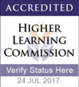 Accredited Higher Learning Commission